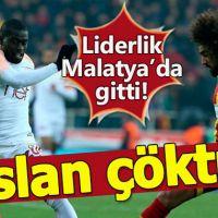 Malatyaspor-Galatasaray maçın özeti ve golleri