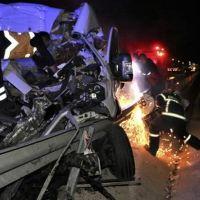 Manisa'da zincirleme kaza: Bir ağır 4 yaralı
