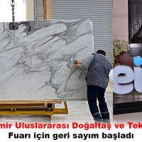 Marble İzmir Uluslararası Doğaltaş ve Teknolojileri Fuarı için geri sayım başladı