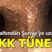 Mardin Nusaybin'de PKK tüneli bulundu