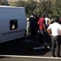 Mardin-Şırnak sınırında feci kaza: 17 yaralı