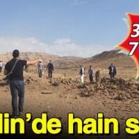 Mardin'de askeri araca bombalı saldırı: 3 şehit 7 yaralı