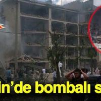 Mardin'de polise bombalı saldırı: Ölü ve yaralılar var