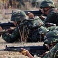 Mardin'de teröristlerle çatışma