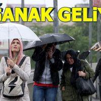 Marmara Bölgesi'ne sağanak yağmur uyarısı