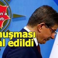 Marmara Üniversitesi'nden eski Başbakan Davutoğlu'na ret