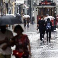 Marmara için sağanak yağmur uyarısı