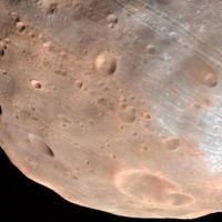 Mars'ta bir ilk! Dolunay görüntülendi