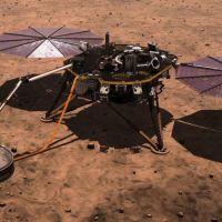 Mars'taki uzay aracı InSight'ın panelleri temizlenecek