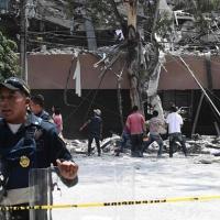 Meksika halkı 7.1'in yaralarını sarıyor