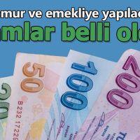 Memur ve emekli maaşları belli oldu! Memur ve emekli maaşlarına ne kadar zam yapıldı!