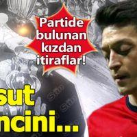 Mesut Özil'in uyuşturucu kullandığı partideki kız her şeyi anlattı