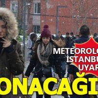 Meteoroloji'den İstanbul'a kar uyarısı