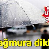 Meteorolojiden yeni yağmur uyarısı!