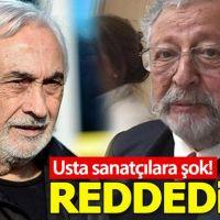 Metin Akpınar ve Müjdat Gezen'in itirazı reddedildi