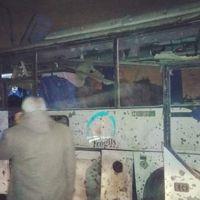 Mısır'da turistleri taşıyan otobüste patlama meydana geldi