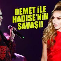 Müzik camiasında Hadise-Demet Akalın düellosu