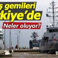 NATO'nun savaş gemileri Sinop'a demir attı