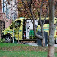 Norveç'te iki saldırgan ambulans kaçırdı
