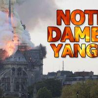 Notre Dame Katedrali'nde yangın çıktı