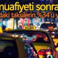 ÖTV muafiyeti sonrası İstanbul'daki taksilerin %34'ü yenilendi (Bölüm4)