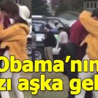 Obama'nın kızı sevgilisiyle uygunsuz şekilde yakalandı