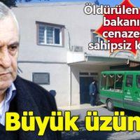 Öldürülen Eski Bakan Ercan Vuralhan'ın cenazesine kimse sahip çıkmadı