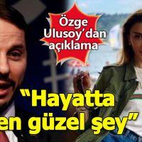 Özge Ulusoy, Berat Albayrak'la ilişki iddiasına yanıt verdi