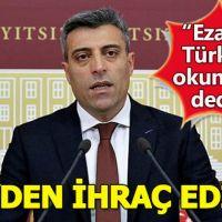 Öztürk Yılmaz kimdir, CHP'den neden ihraç edildi, Öztürk Yılmaz'ın suçu ne?