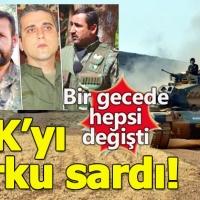 PKK'da Afrin paniği başladı!
