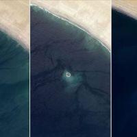Pakistan'da ada kendi kendine kayboldu