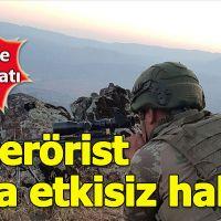 Pençe Harekatı'nda etkisi hale getirilen terörist sayısı 34'e yükseldi
