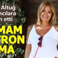 Pınar Altuğ'un yapımcılara isyan etmesi