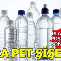 Plastik poşet değişikliğinden sonra sıra pet şişede