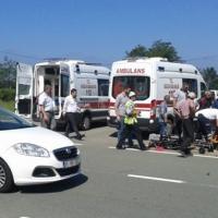 Rize Derepazarı'nda feci kaza!