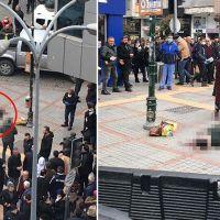 Rize'de sokak ortasında kadın cinayeti!