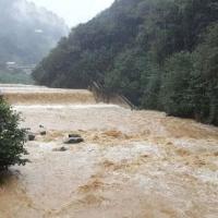 Rize'de yağış nedeniyle evler boşaltılıyor