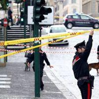 Roma'da korkutan bomba alarmı: Bir banka tahliye edildi