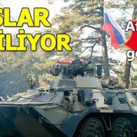 Rus askerleri Afrin'den çekilmeye başladı