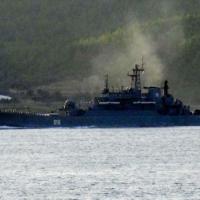 Rus savaş gemisi Ege'ye ilerliyor