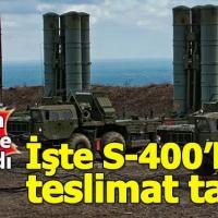 S-400 füzelerinin teslimat tarihi belli oldu