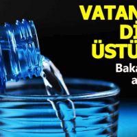Sağlık Bakanlığı, zararlı olduğu söylenen sularla ilgili açıklama yaptı