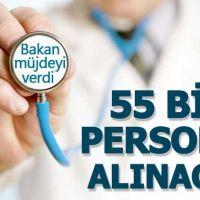 Sağlık Bakanlığından atama müjdesi - 55 bin personel alınacak - İşte başvuru şartları