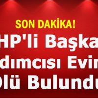 CHP Sakarya İl Başkan Yardımcısı Orhan Durmuşoğlu evinde ölü olarak bulundu