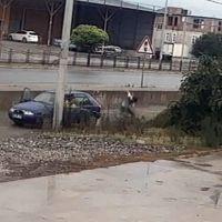 Samsun'da yaşlı adama saldıran maganda aranıyor