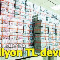 Sayısal Loto 1 milyon TL devretti ( MPİ 26 Ocak 2019 Sayısal Loto sonuçları)