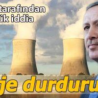 Sinop Nükleer Santrali projesi durduruldu