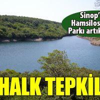 Sinop halkından Hamsilos tepkisi