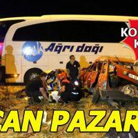 Sivas'ta korkun kaza