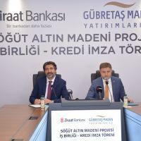 Söğüt Altın Madeni Projesi'nde Ziraat Bankası ve Gübretaş Maden'den İş Birliği